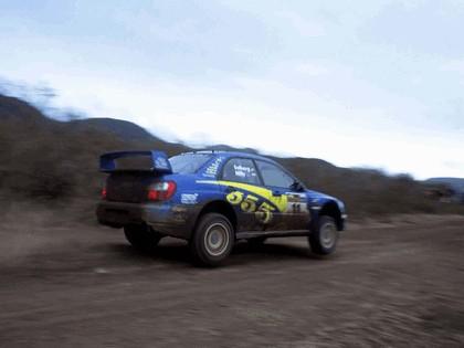 2002 Subaru Impreza WRC 100