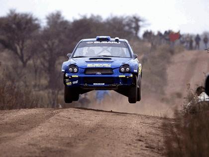 2002 Subaru Impreza WRC 105