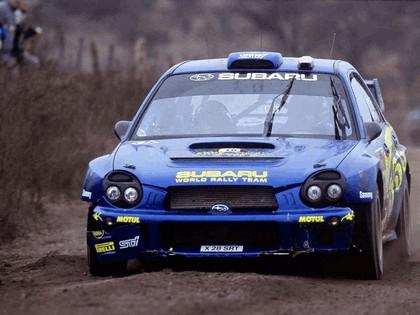 2002 Subaru Impreza WRC 110