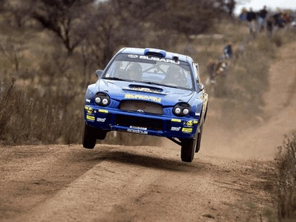2002 Subaru Impreza WRC 112