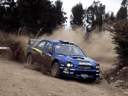 2002 Subaru Impreza WRC 114