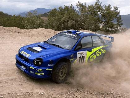 2002 Subaru Impreza WRC 115