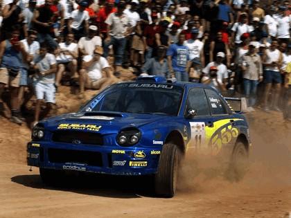 2002 Subaru Impreza WRC 122