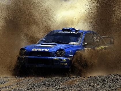 2002 Subaru Impreza WRC 124