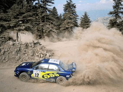 2002 Subaru Impreza WRC 134