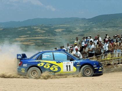 2002 Subaru Impreza WRC 137