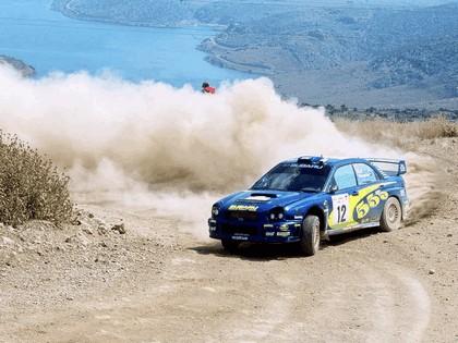 2002 Subaru Impreza WRC 138