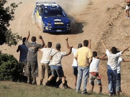 2002 Subaru Impreza WRC 139