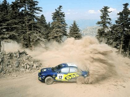 2002 Subaru Impreza WRC 141