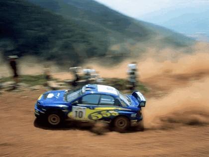 2002 Subaru Impreza WRC 143