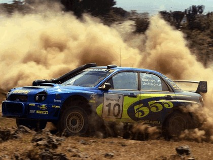 2002 Subaru Impreza WRC 146