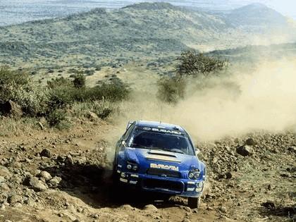 2002 Subaru Impreza WRC 154