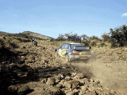 2002 Subaru Impreza WRC 155