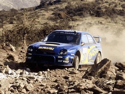 2002 Subaru Impreza WRC 156