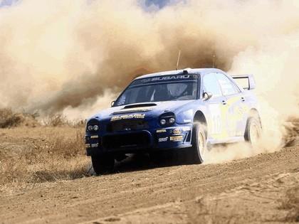 2002 Subaru Impreza WRC 161