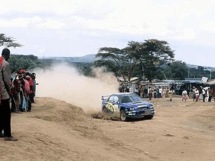 2002 Subaru Impreza WRC 162