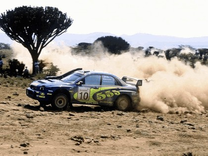 2002 Subaru Impreza WRC 163