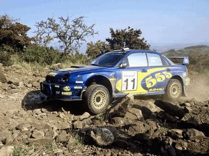 2002 Subaru Impreza WRC 166