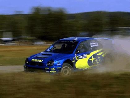 2002 Subaru Impreza WRC 177