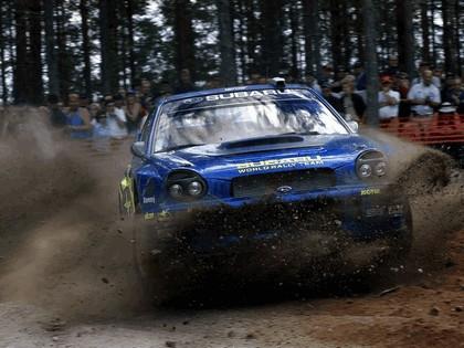 2002 Subaru Impreza WRC 180