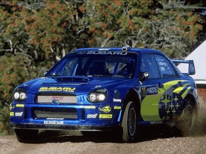 2002 Subaru Impreza WRC 185