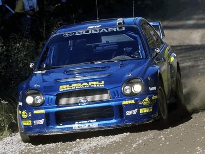 2002 Subaru Impreza WRC 186