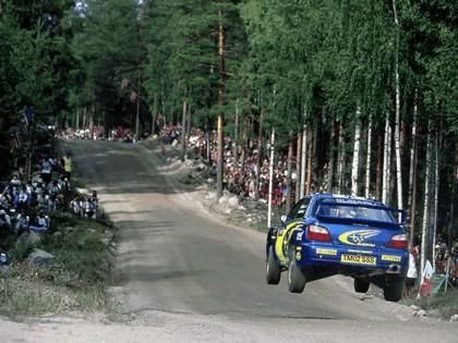 2002 Subaru Impreza WRC 188
