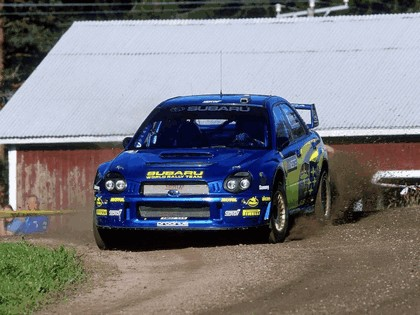 2002 Subaru Impreza WRC 192