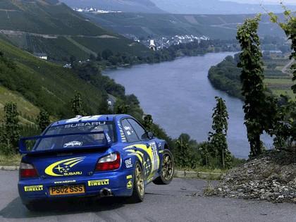2002 Subaru Impreza WRC 203