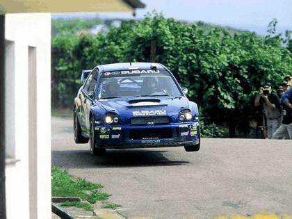 2002 Subaru Impreza WRC 204