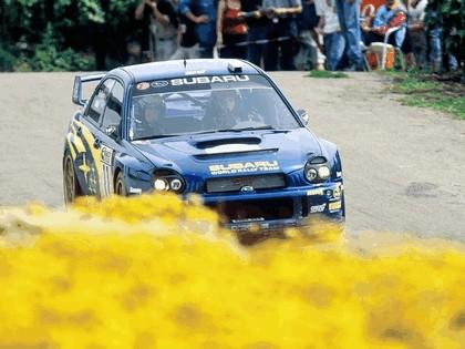 2002 Subaru Impreza WRC 206