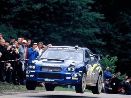 2002 Subaru Impreza WRC 207