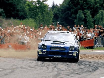 2002 Subaru Impreza WRC 208