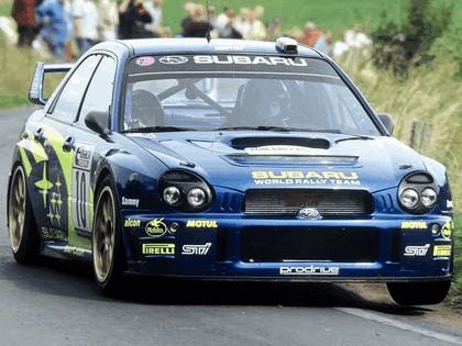 2002 Subaru Impreza WRC 211