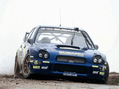 2002 Subaru Impreza WRC 212
