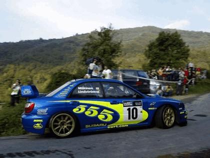 2002 Subaru Impreza WRC 214
