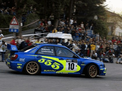 2002 Subaru Impreza WRC 215