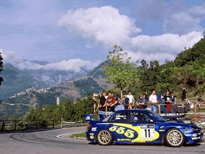 2002 Subaru Impreza WRC 220