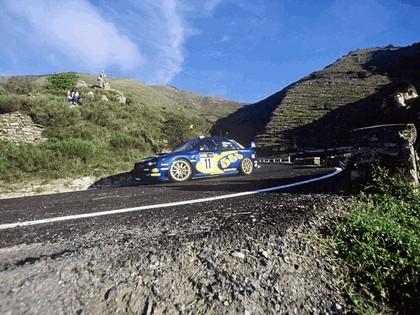 2002 Subaru Impreza WRC 222