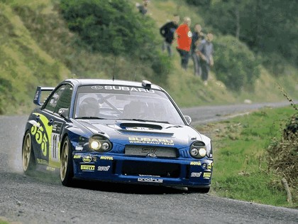 2002 Subaru Impreza WRC 227