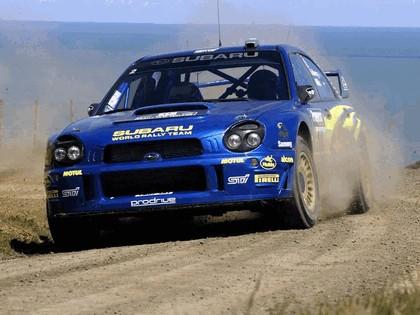 2002 Subaru Impreza WRC 232