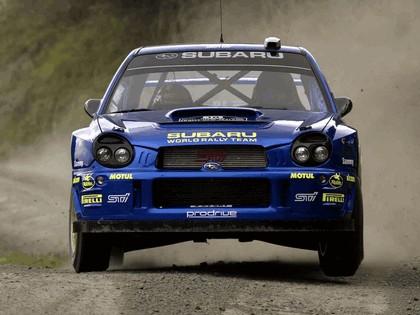 2002 Subaru Impreza WRC 234