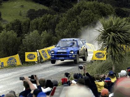 2002 Subaru Impreza WRC 236