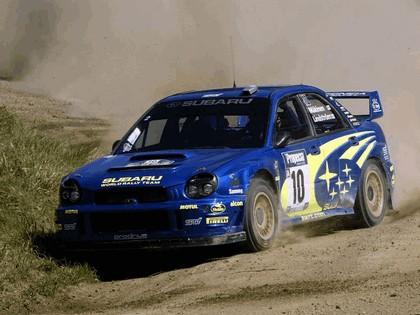 2002 Subaru Impreza WRC 239