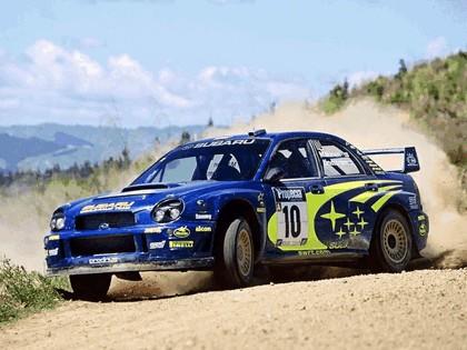 2002 Subaru Impreza WRC 250
