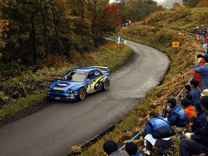 2002 Subaru Impreza WRC 254