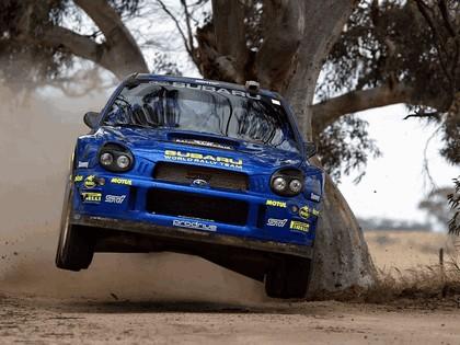 2002 Subaru Impreza WRC 258