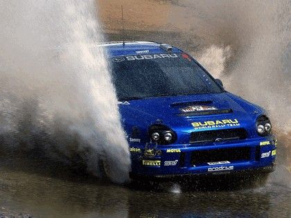 2002 Subaru Impreza WRC 261