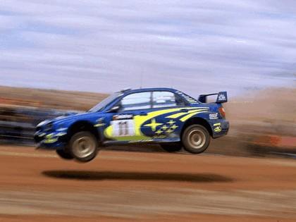 2002 Subaru Impreza WRC 263