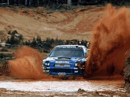 2002 Subaru Impreza WRC 267